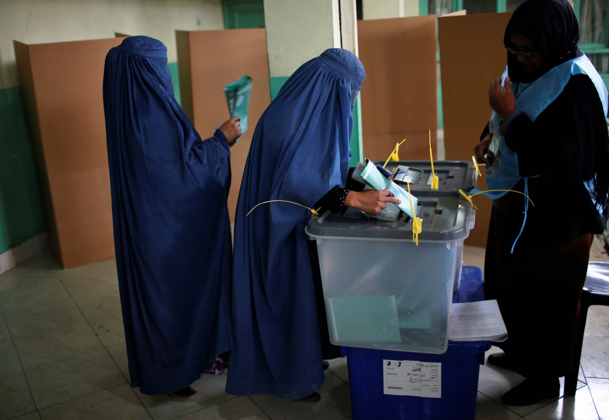 The Afghanistan Presidential Elections