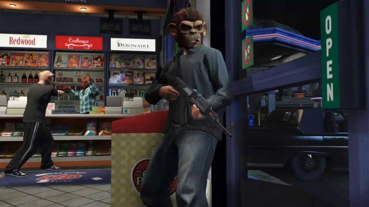 GTA 5 Online:  Gamers Embark on Brilliant Robbing Spree with Funny Moments, Skits and Challenge