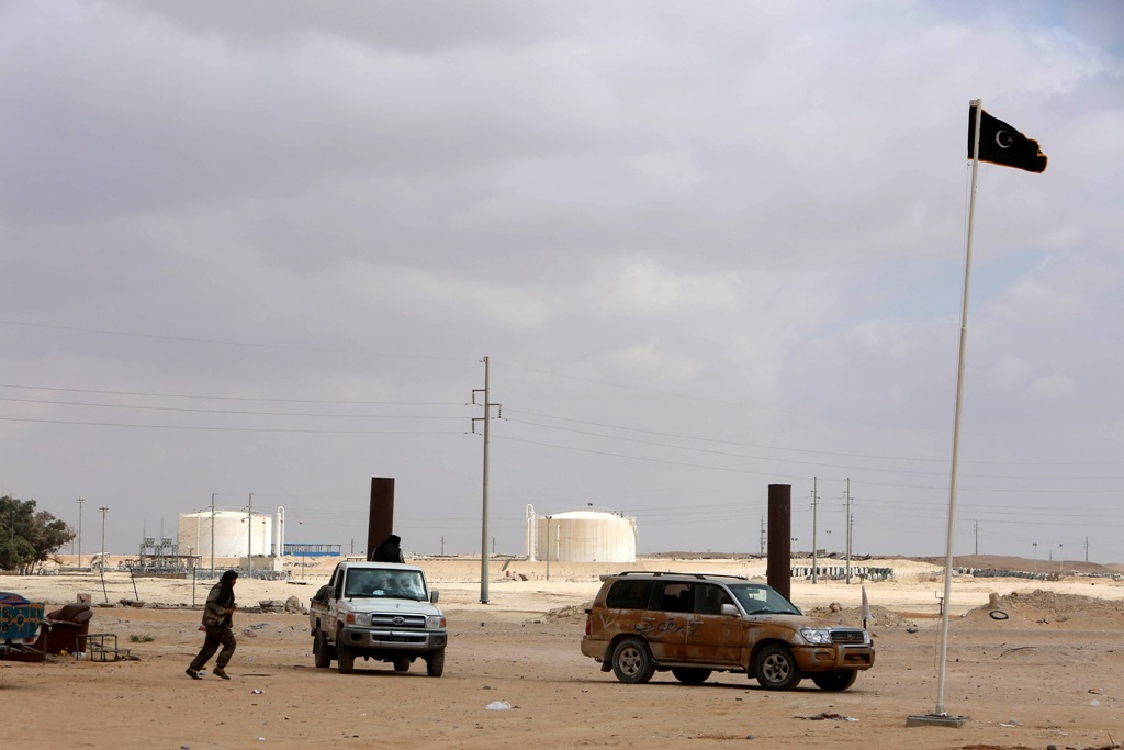 Zueitina Oil Field Libya
