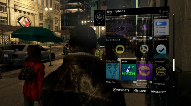 Watch Dogs Screenshots Inventory