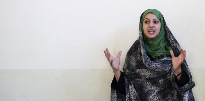 Naheed Farid is the youngest MP in Parliament and a representative of Herat province.