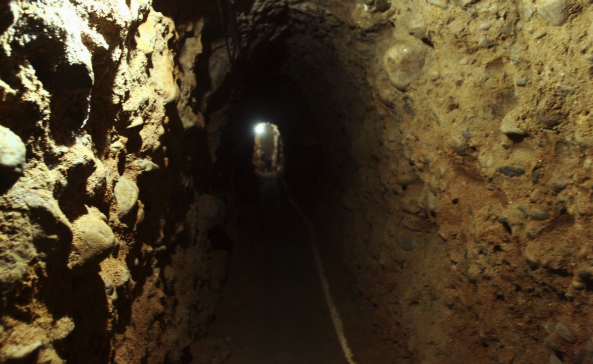 'Narco Tunnel' from Tijuana to California unearthed in 2011.