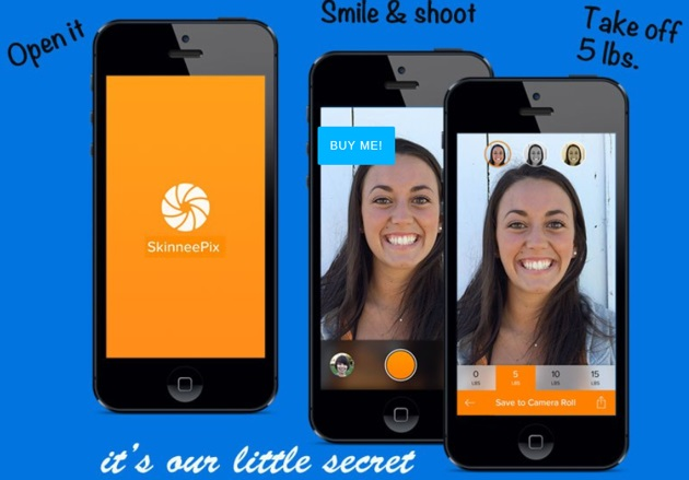 Selfie App Promises To Make Posers Look 15 Pounds Lighter