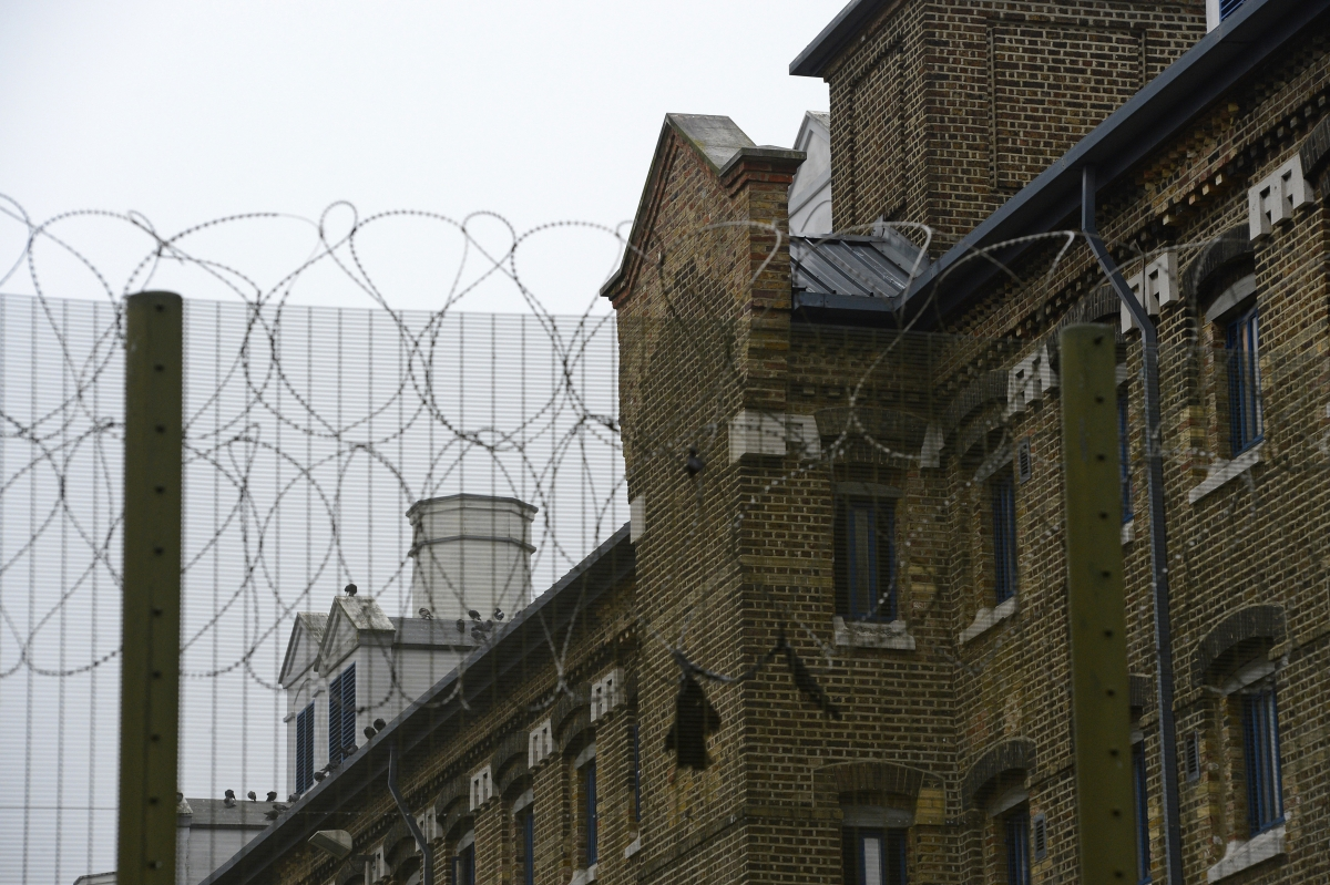 Wormwood Scrubs prison in London.