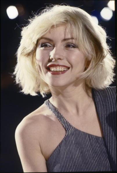 Debbie Harry in the Heart Of Glass video shoot