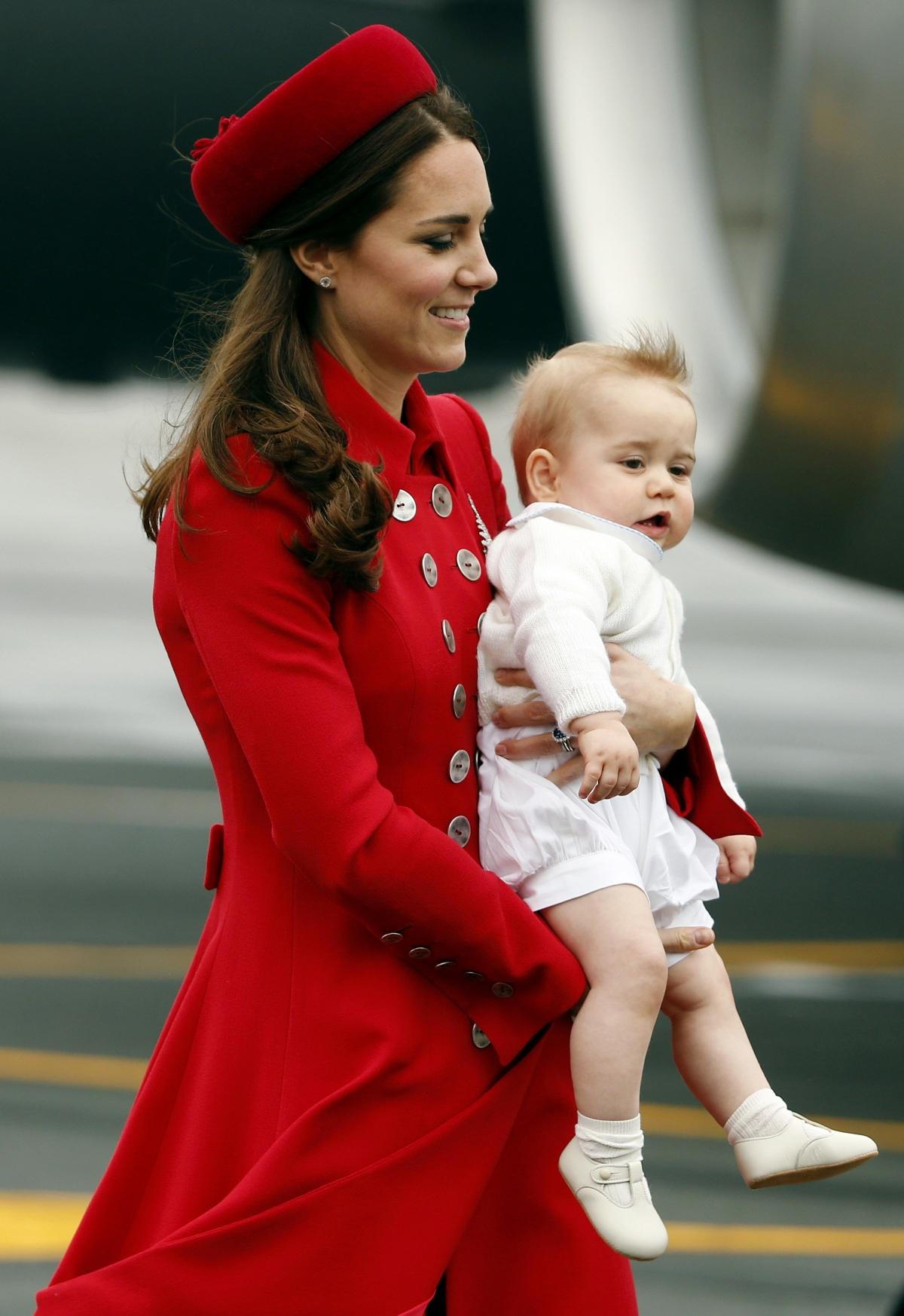 Kate Middleton Baby George Kate Middleton's 30 Dr...