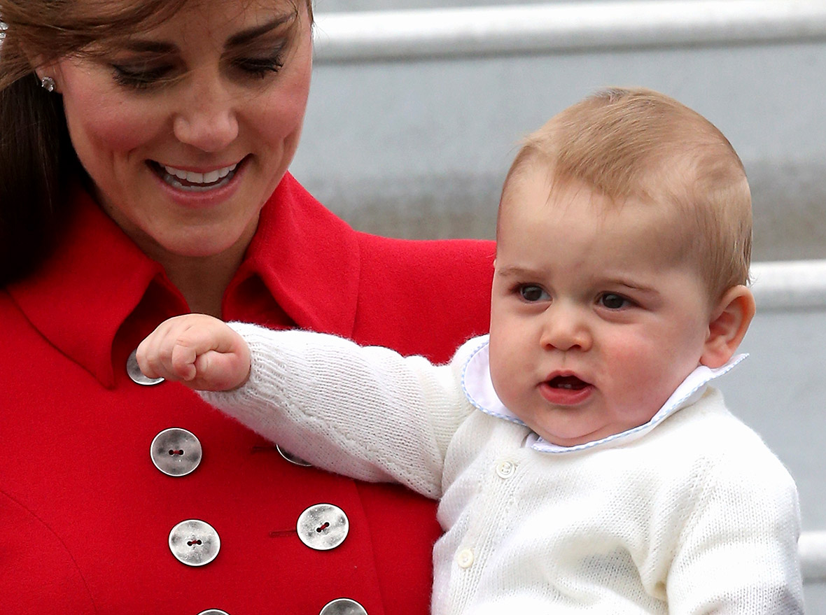 Kate Middleton Baby George Royal Tour in 40 Pictu...