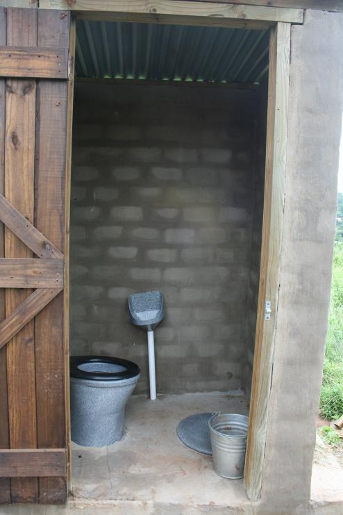 South Africa public toilet