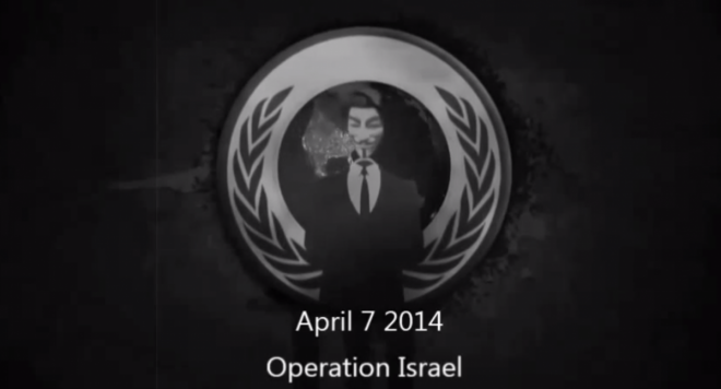 OpIsrael: Anonymous Attacks Israeli websites