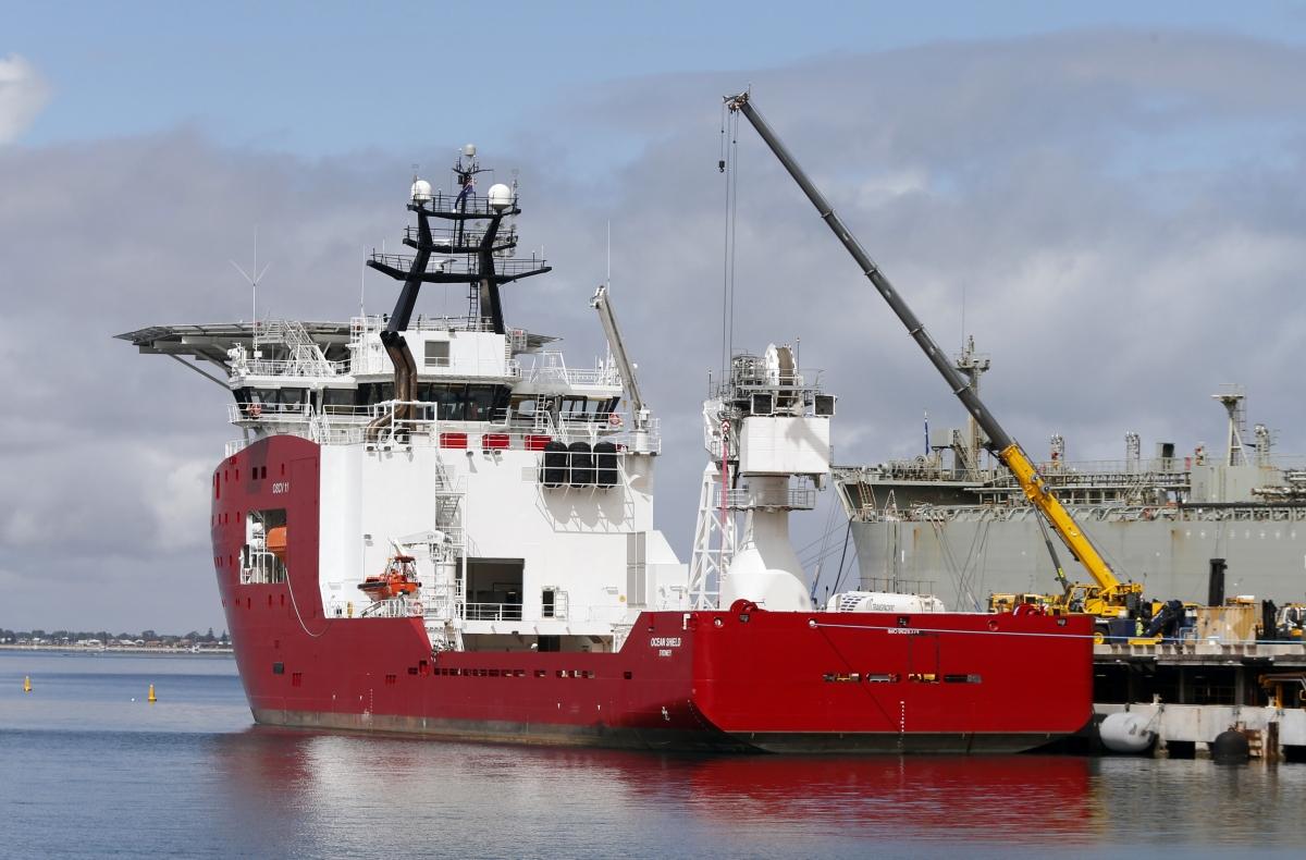 The Australian Defence Vessel Ocean Shield
