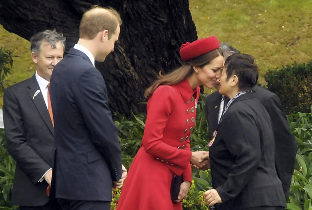 Duke and Duchess of Cambridge Arrive in Wellington
