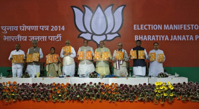 India elections and BJP manifesto