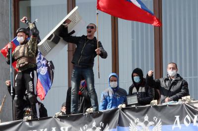 donetsk flags