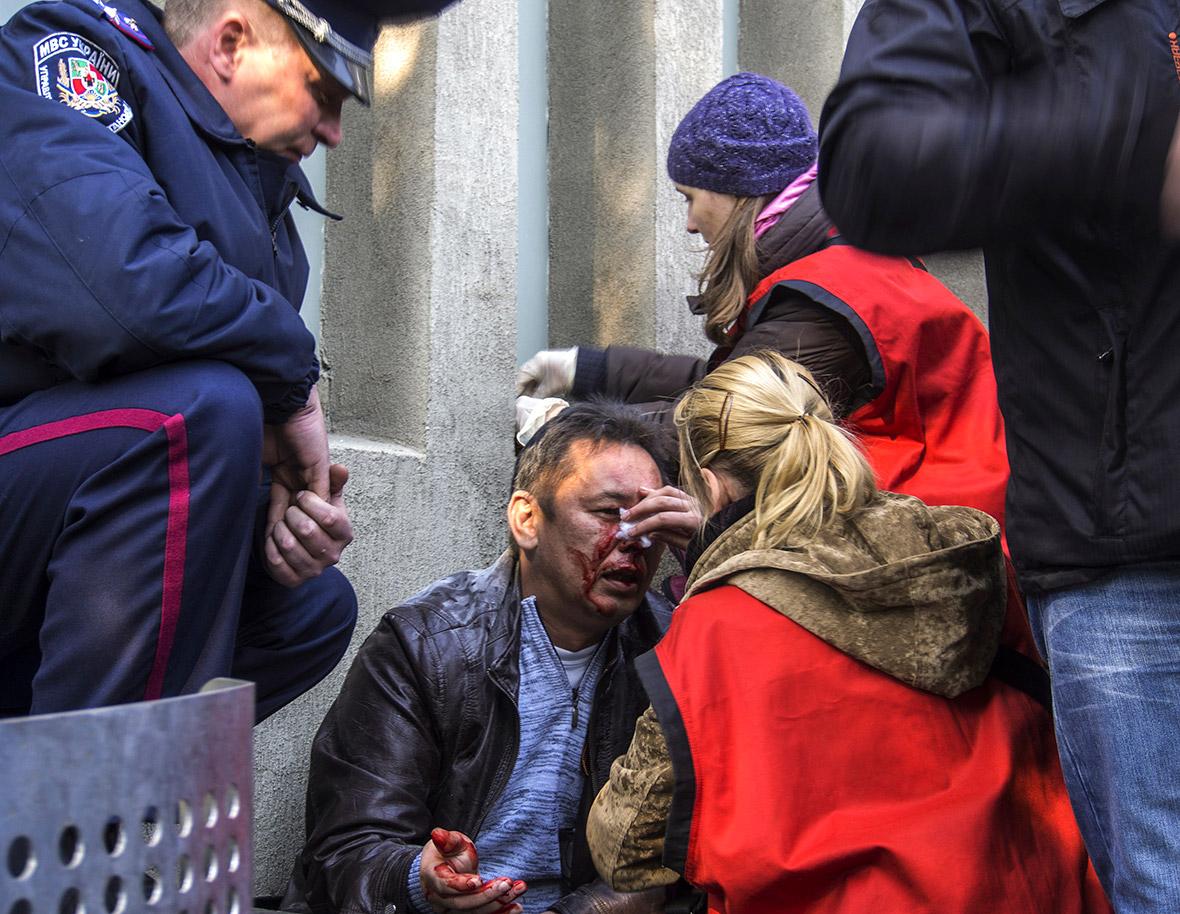 lugansk wounded