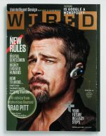 Brad Pitt Wired Bluetooth Headset