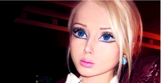 Real life Barbie Valeria Lukyanova