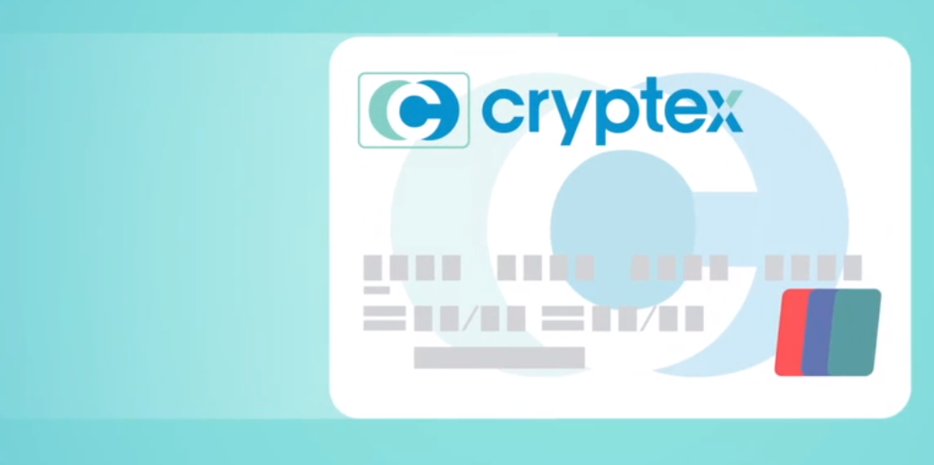 Cryptex Card Bitcoin to Cash ATM card