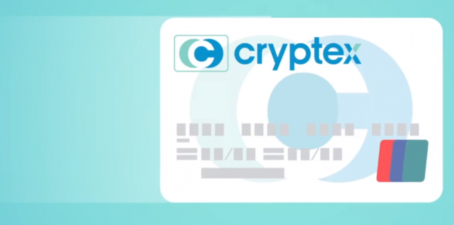 Cryptex Card Bitcoin to Cash ATM card