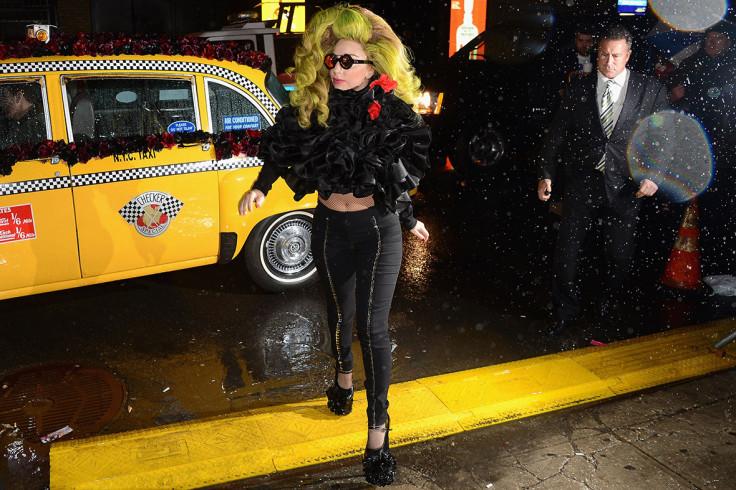 lady gaga taxi