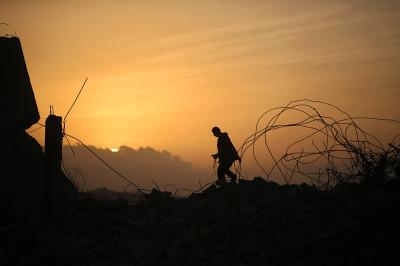 gaza sunset