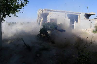 syria rocket