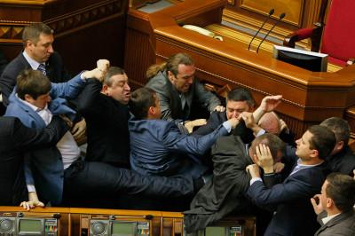 ukraine punch up
