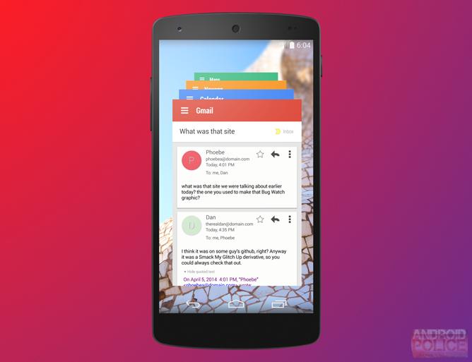 Android 4.5 Lollipop: Leaked Screenshots Hint at Enhanced Multitasking