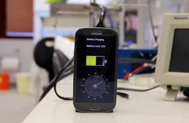 Prototype Offers 30-second Smartphone Charging