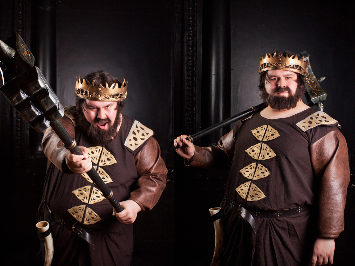 Sjbonnar as Robert Baratheon