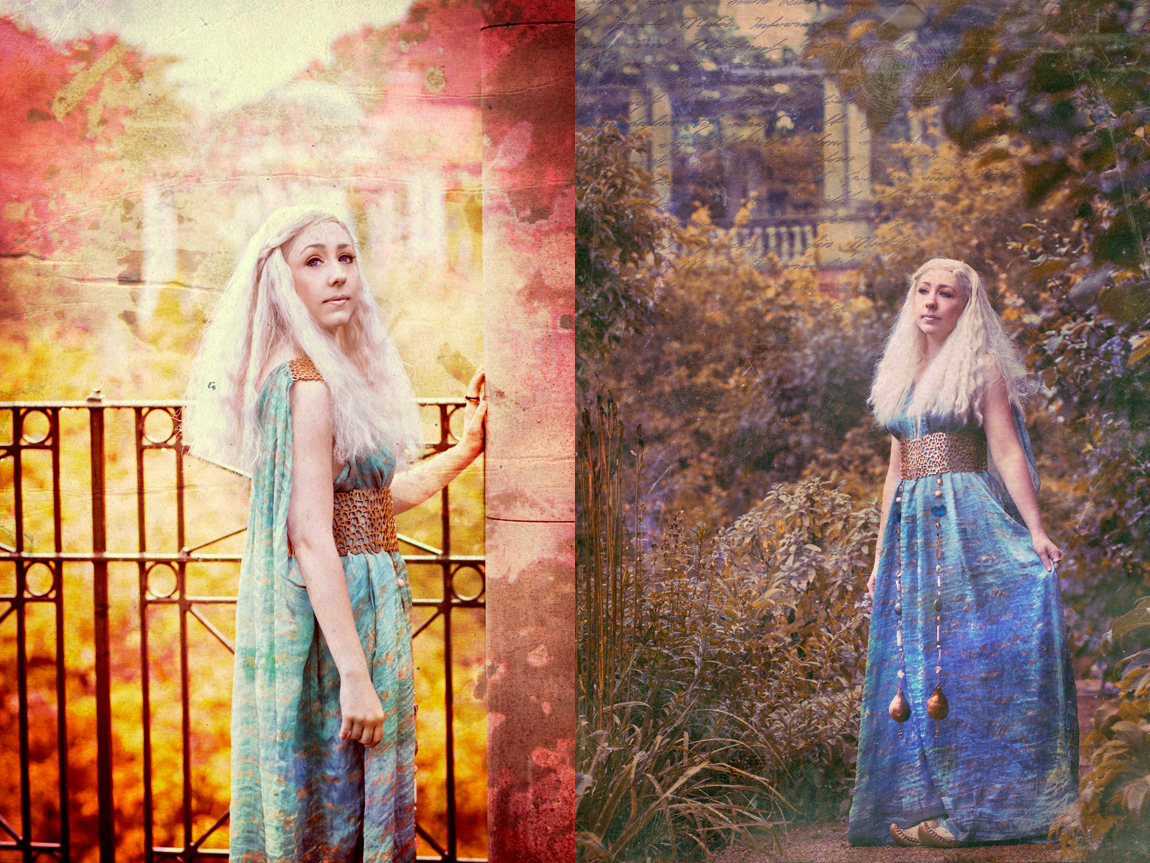 Amy / Alias Cosplay as Daenerys Targaryen