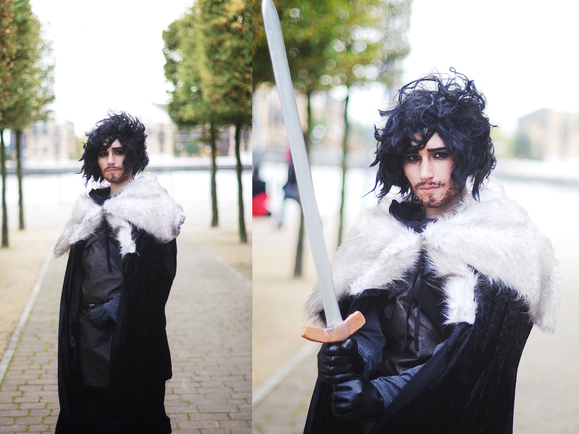 Sophie as Jon Snow