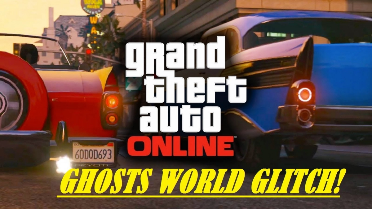 GTA 5: Online Ghost World Glitch and Funny Moments