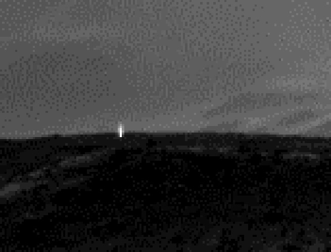 mars rover lights volcano - photo #17