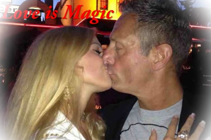 Mayka Kukucova and Andrew Bush smooch their way through a video she made about them and then posted on Youtube
