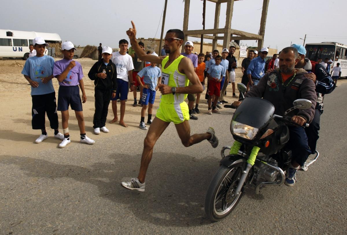 Gaza Runner Israel Banned From Entering Marathon
