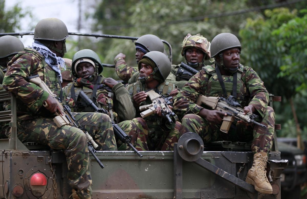 Kenya Terrorists Nairobi