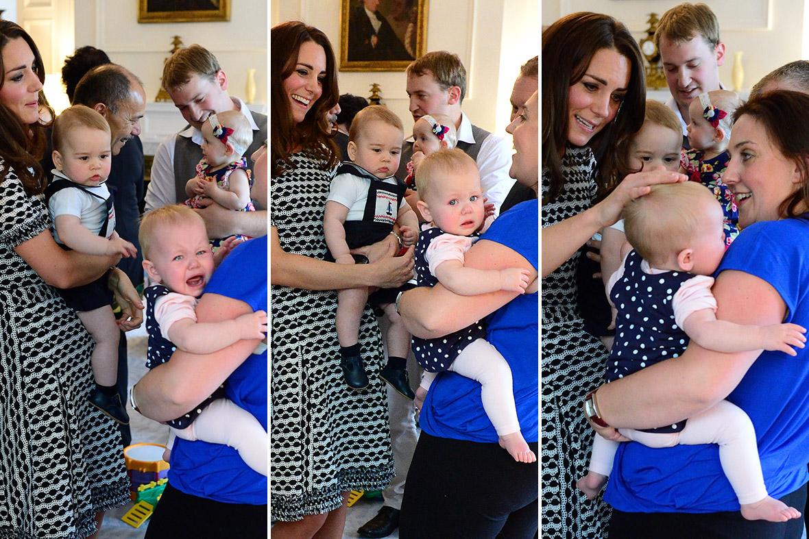 Prince George baby