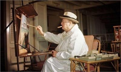 Churchill painter