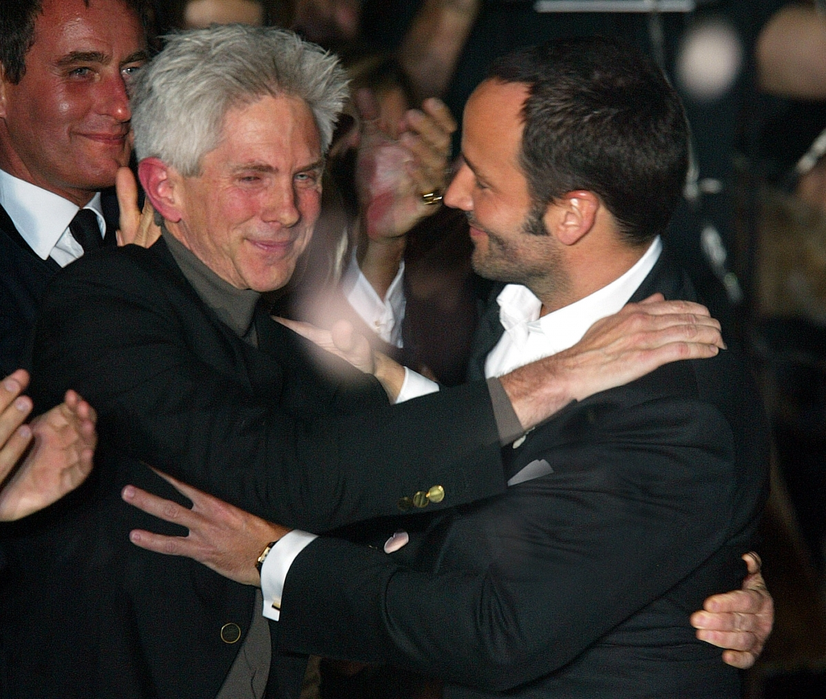 American fashion designer Tom Ford has married his longtime partner, Richard Buckley.