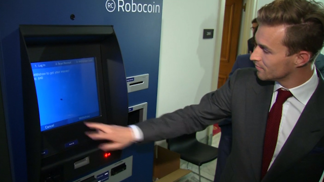 Bitcoin ATM Unveiled on Capitol Hill