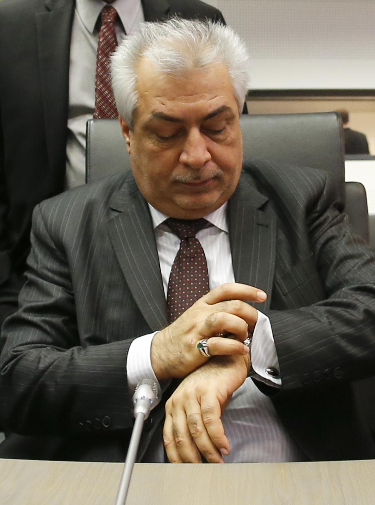 Iraq Oil Minister Abdul Kareem Luaibi