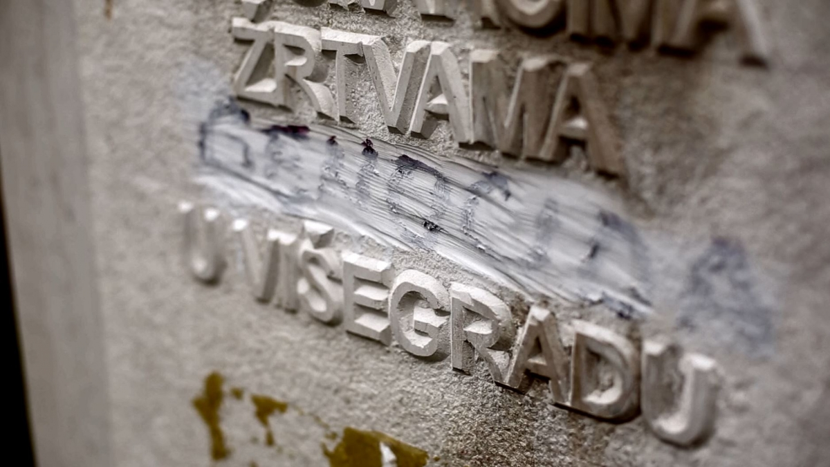 The Straziste memorial
