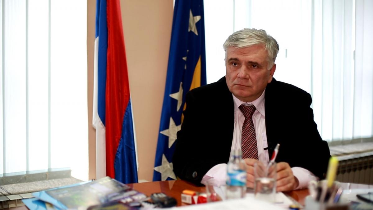 Slavisa Miskovic, mayor of Visegrad