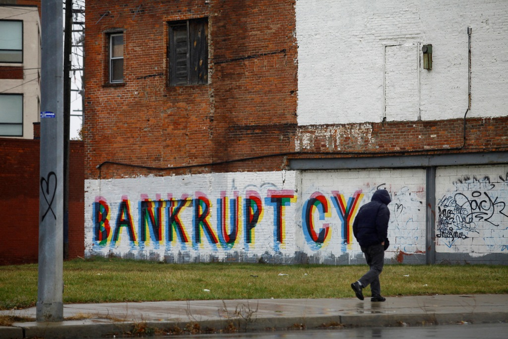 Graffiti Detroit US