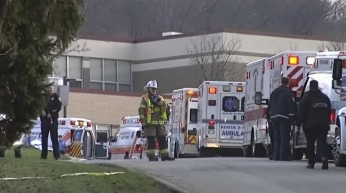Pennsylvania High School Stabbing Spree Injures 20