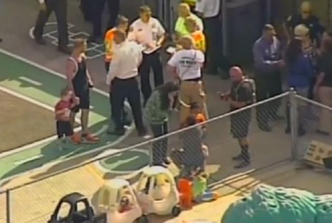 Car crash at Florida day care centre