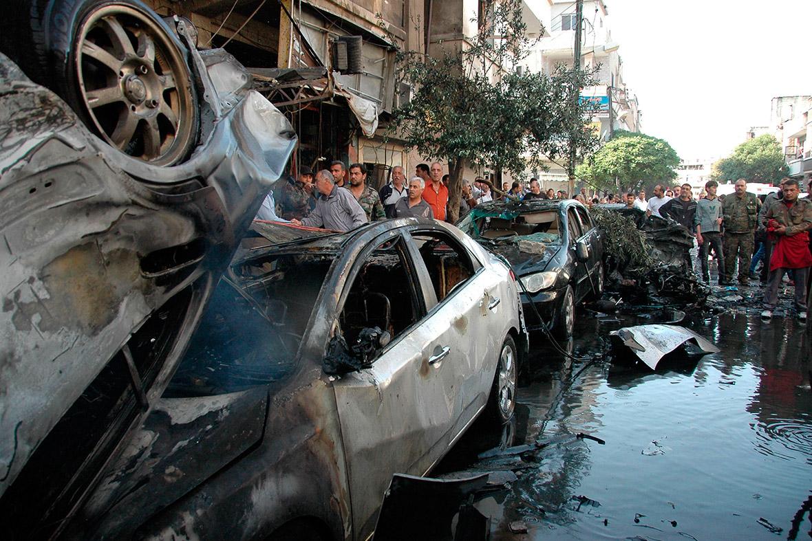car bombs syria