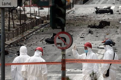car bomb greece