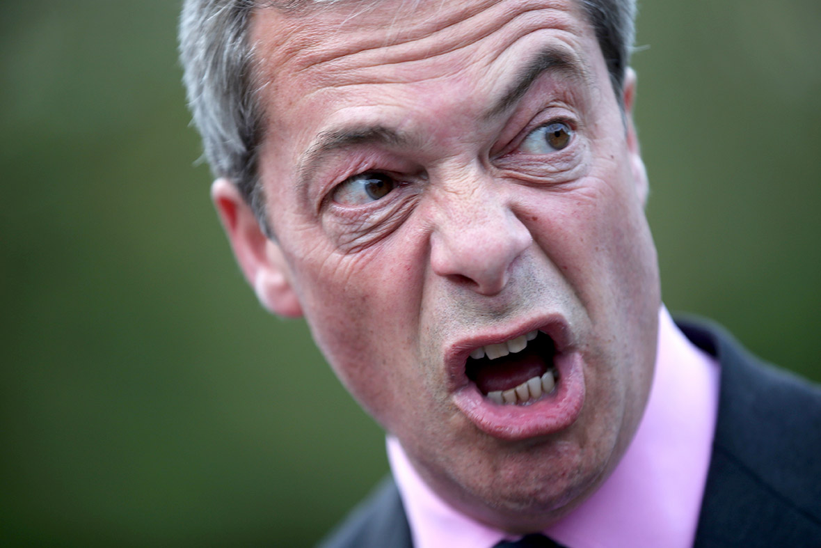 Nigel Farage is on the warpath following after Ukip was embarrassed by council hopeful Andre Lampitt, who embarked upon a racist rant on Twitter