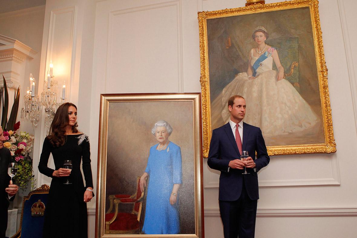 Queen portrait